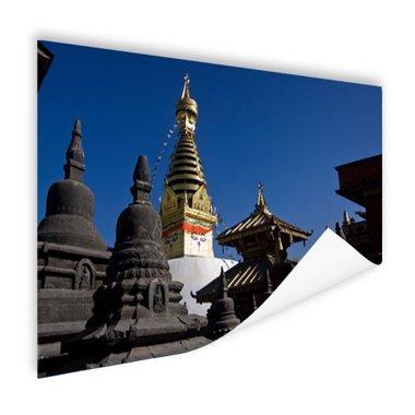 Swayambhunath Kathmandu - Poster