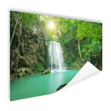 Erawan jungle waterval - Poster