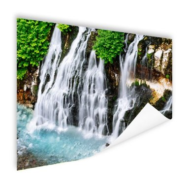 Brede waterval - Poster