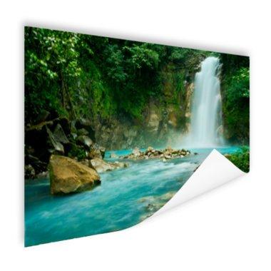 Rio Celeste waterval - Poster