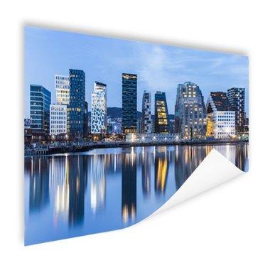 Skyline Oslo - Poster