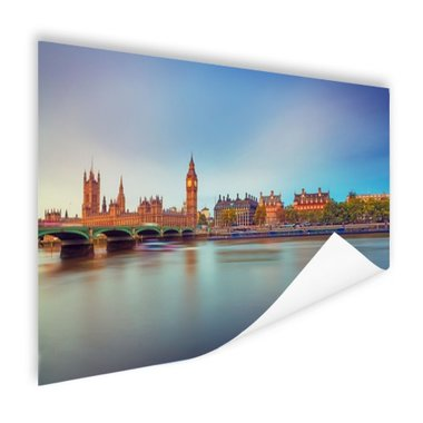 Skyline Londen - Poster