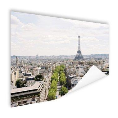 Parijs Skyline - Poster