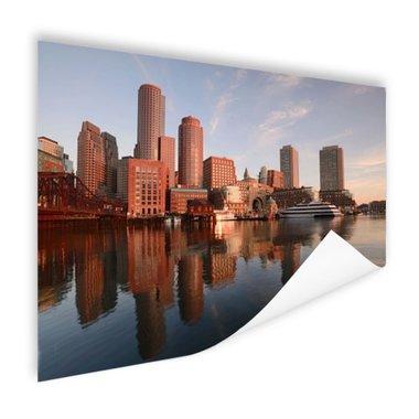 Skyline Boston - Poster