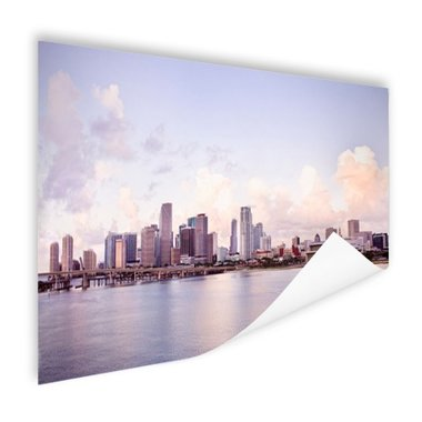 Miami skyline - Poster