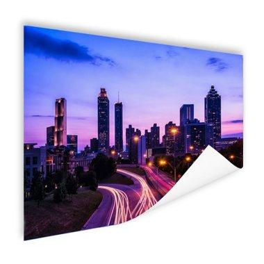 Atlanta skyline - Poster
