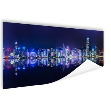 Hong Kong skyline - Poster
