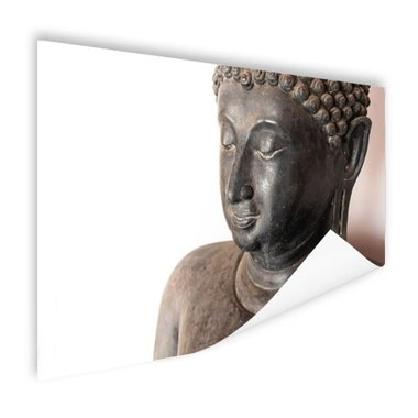 Boeddha hoofd van steen - Poster