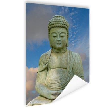 Stenen Boeddha - Poster