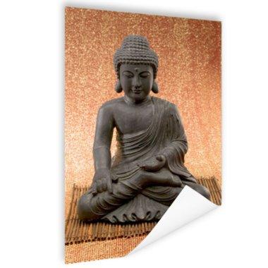 Hindoe Boedha standbeeld - Poster