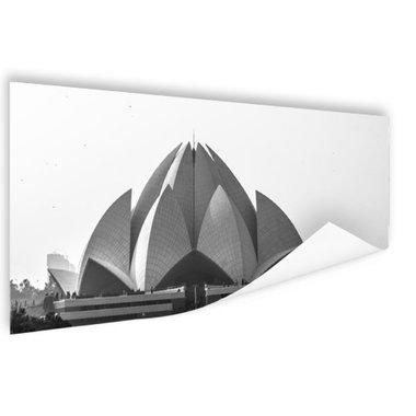 De Lotus Tempel Delhi - Poster