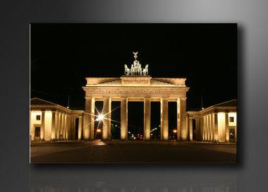 Brandenburger Tor - Canvas Schilderij 120 x 80 cm