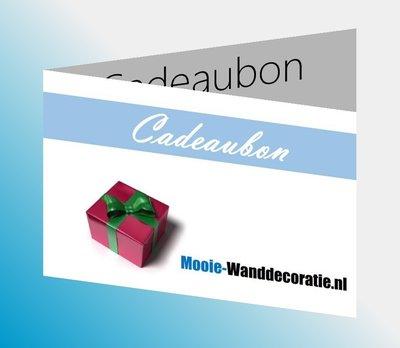 Cadeaubon Mooie-Wanddecoratie.nl
