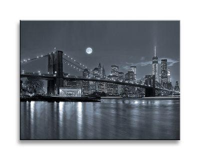 New York - Canvas Schilderij 40 x 30 cm