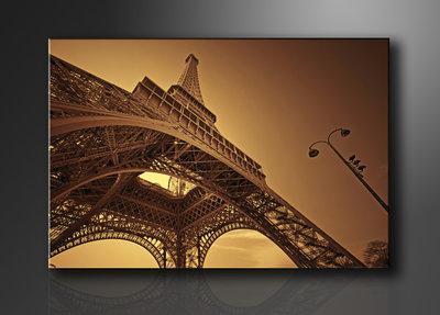 Eiffeltoren - Canvas Schilderij 120 x 80 cm