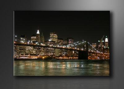 New York - Canvas Schilderij 80 x 60 cm